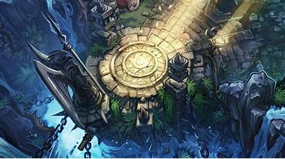 League Legends Rift Summoners Base Lol Map