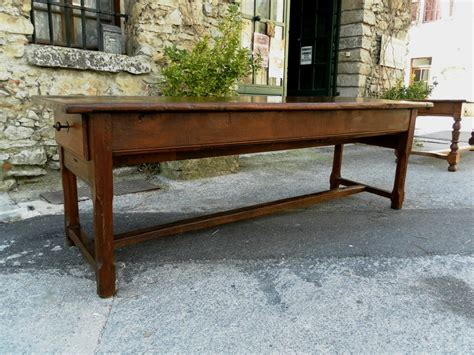 18th century farmhouse table 98 inch length for