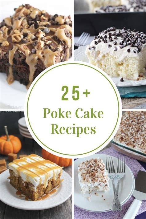 collection    poke cake recipes