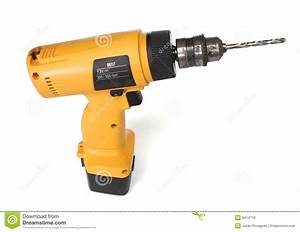 Cordless Drill Machine Stock Photo  Image Of Tool  Battery