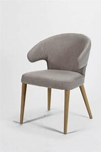 Stühle Mit Stoffbezug : esszimmerstuhl curvo design stuhl mit stoffbezug und eichengestell ~ Markanthonyermac.com Haus und Dekorationen