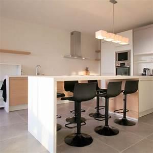 10 uniques tables hautes pour cuisine With deco cuisine avec hauteur table salle À manger