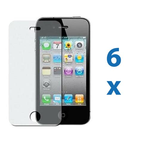 iphone 4s screen 6 iphone 4 4g 4s anti glare matte screen protector cover