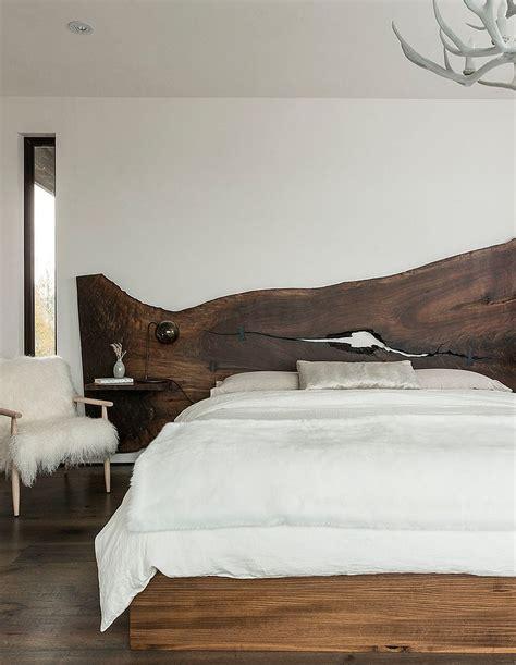 rustic wood headboard 25 reasons to fall in with a live edge headboard