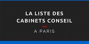 La Liste Complte Des Cabinets Conseil Paris 1000