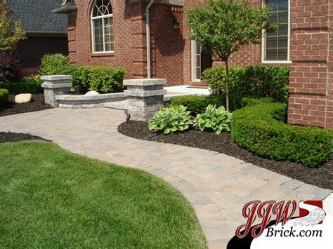 brick front yard landscaping front yard landscaping design photos traditional landscape detroit by jjw brick com