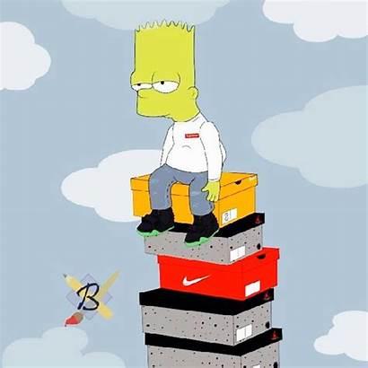 Bart Simpson Simpsons Supreme Wallpapers Dope Cartoon