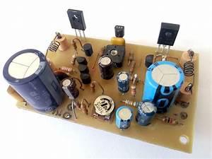 10w Stereo Audio Amplifier With Transistors  U00b7 One Transistor