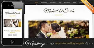 5 best responsive wedding website templates designmaz for Best wedding photography websites