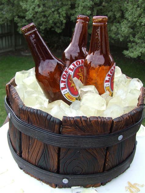 beer bottle ice bucket cake cakecentralcom