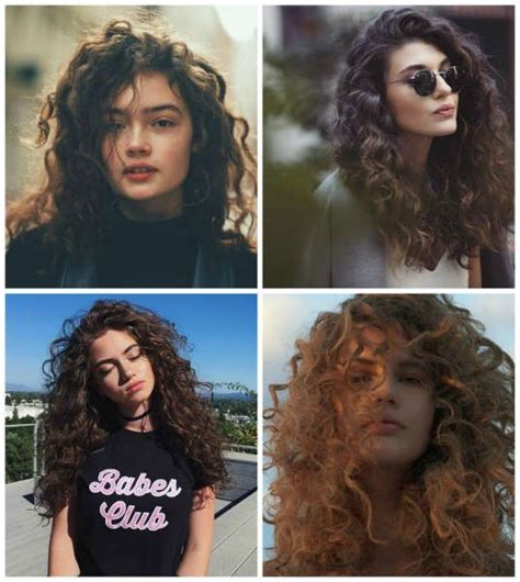 peinados  cabello chino suelto  peinados cortes