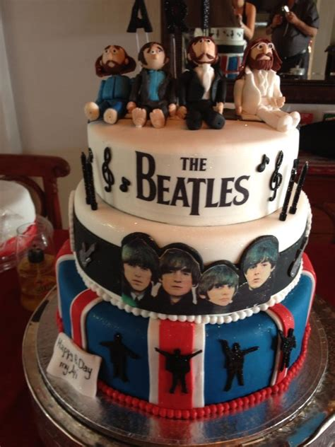 164 Best Images About Beatles Cakes On Pinterest Sugar