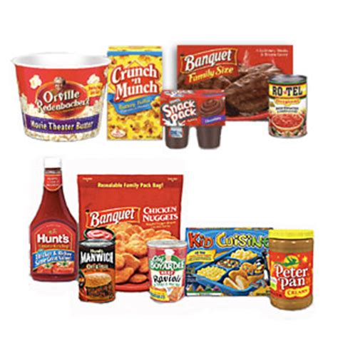 14283 Food Coupons By Mail by Conagra Foods 17 Coupon Booklet In The Mail From Walmart