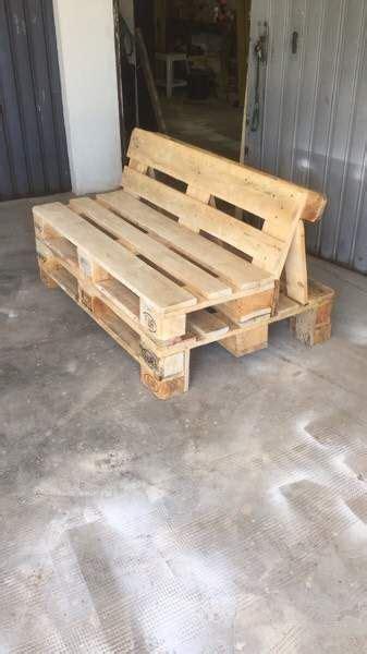 divano divanetto pallet pancali bancali  lastra
