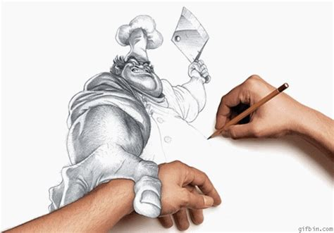 funniest pencil drawings  art works funny