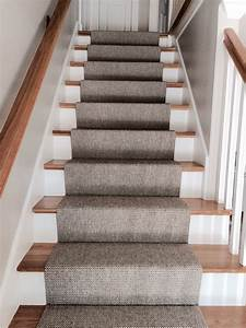 Merida Flat Woven Wool Stair Runner By The Carpet Workroom