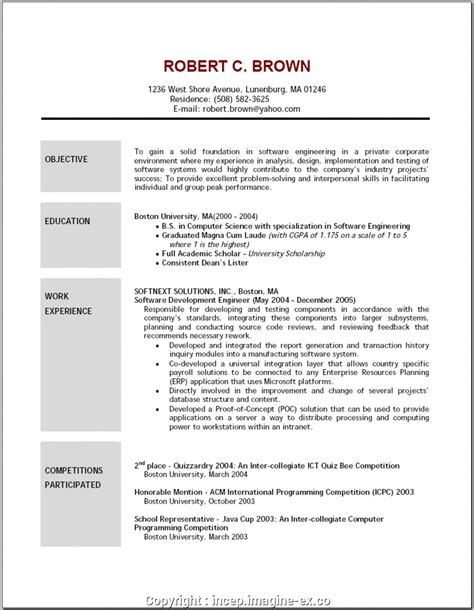 Creative Resume Objective by Creative Cv Goals Exles How To Write Resume Objective