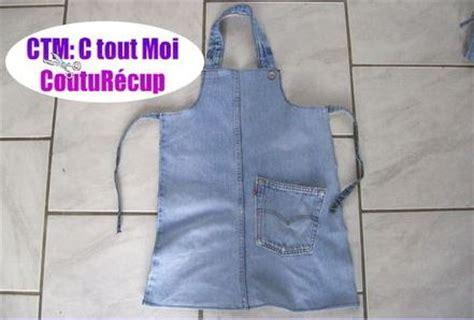 Tuto Tablier De Cuisine En Jean by 5 Fa 231 Ons De Recycler Un Vieux Jean