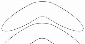 boomerang template free to use template time With australian boomerang template
