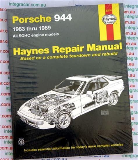 hayes car manuals 1987 porsche 928 free book repair manuals porsche 944 1983 1989 haynes service repair manual sagin workshop car manuals repair books