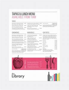 top result 50 beautiful break and lunch schedule template With tapas menu template