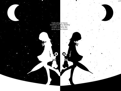 black  white anime  hd wallpaper hdblackwallpapercom