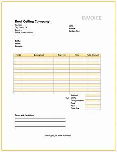 invoice roofing joy studio design gallery best design With roof repair invoice sample
