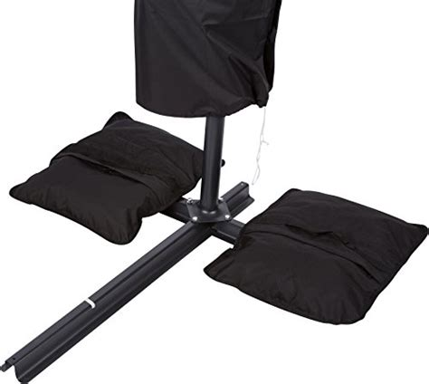 saddlebag style sand weight bags for anchoring patio