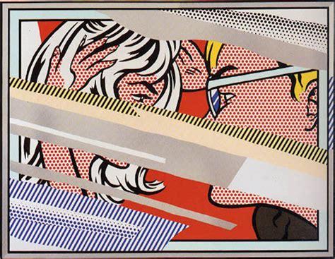 Reflections Series By Roy Lichtenstein