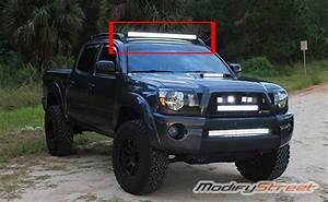 42 Inch Curved Light Bar For 2005 2015 Toyota Tacoma Roof Rack 40 Quot Curved Led Light