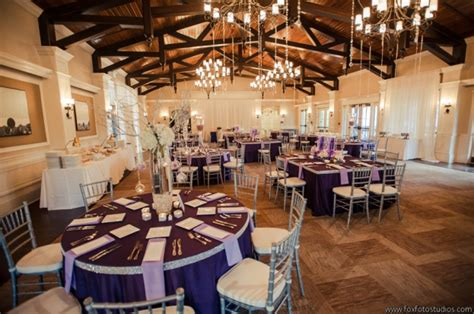 st augustine hitheater wedding silver and purple
