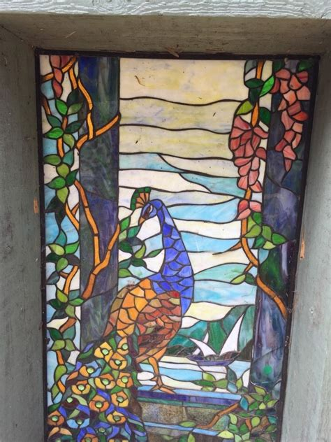 tiffany stained glass l rare tiffany stained glass window period leaded antique