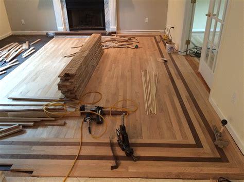 Adding Floor Flare    Wood Floor Installation