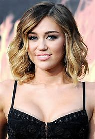 Miley Cyrus Shoulder Length Hair