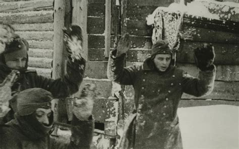 Folie Löst Sich Fronten by Wehrmachtssoldaten Ergeben Sich Vor Moskau 1941