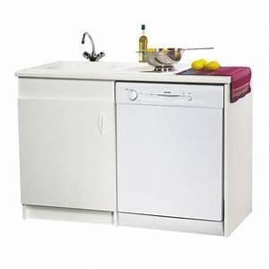 meuble de cuisine avec evier inox evier salle de bain With salle de bain design avec evier en inox