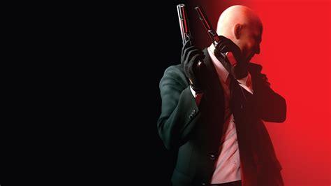 Full Hd Wallpaper Hitman Absolution Bald Gun Suit Art