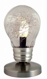 Lampe En Forme D Ampoule : lampe tactile en forme d ampoule design de maison design de maison ~ Teatrodelosmanantiales.com Idées de Décoration