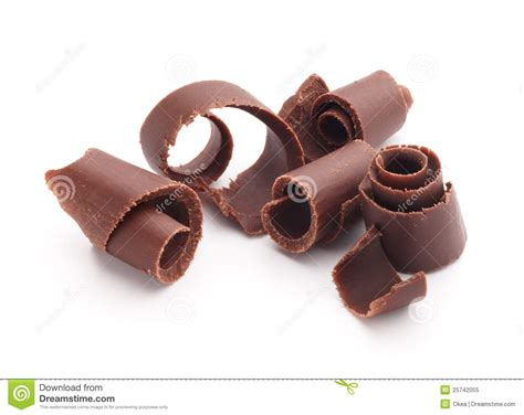 chocolate curls chocolate curls stock image image of chocolate food 25742055