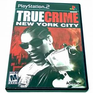 True Crime  New York City For Playstation 2  Ps2