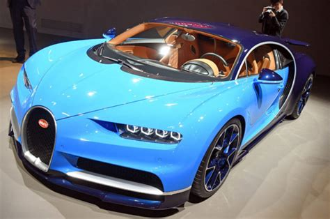 Take A Look At The New Bugatti Chiron