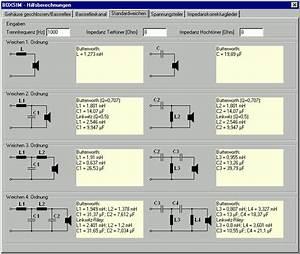 Lautsprecher Frequenzweiche Berechnen : hifi selbstbau frequenzweichen vom anf nger zum profi teil1 ~ Themetempest.com Abrechnung