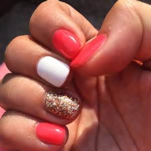Easy summer nail art for short nails awesome