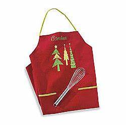 Personalized Adult Christmas Apron FindGift