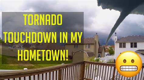 Tornado warning (this is not a drill) #tornado #scary #warning hey there! TORNADO VLOG! - YouTube