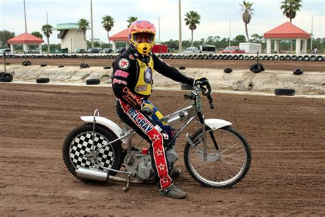 Mesa Park Speedway, Florida - USA Speedway Motorcycle Racing