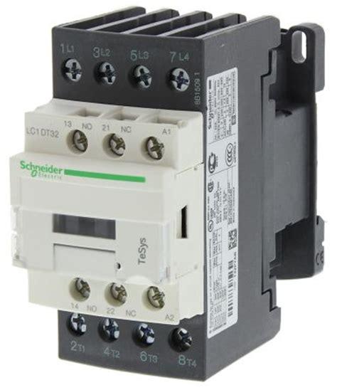 kontaktor schneider lc1d09 lc1dt32p7 tesys d lc1d 4 pole contactor 4no 32 a 230