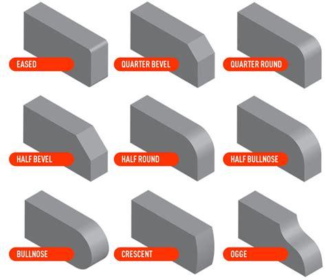 granite countertop edge profiles fayetteville