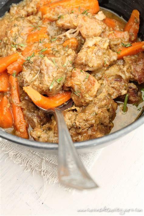 saut 233 de veau aux carottes gingembre et coriandre cuisine de tous les jours