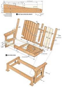 Garden Glider Bench by Outdoor Glider Chair Plans Modern Patio Amp Outdoor